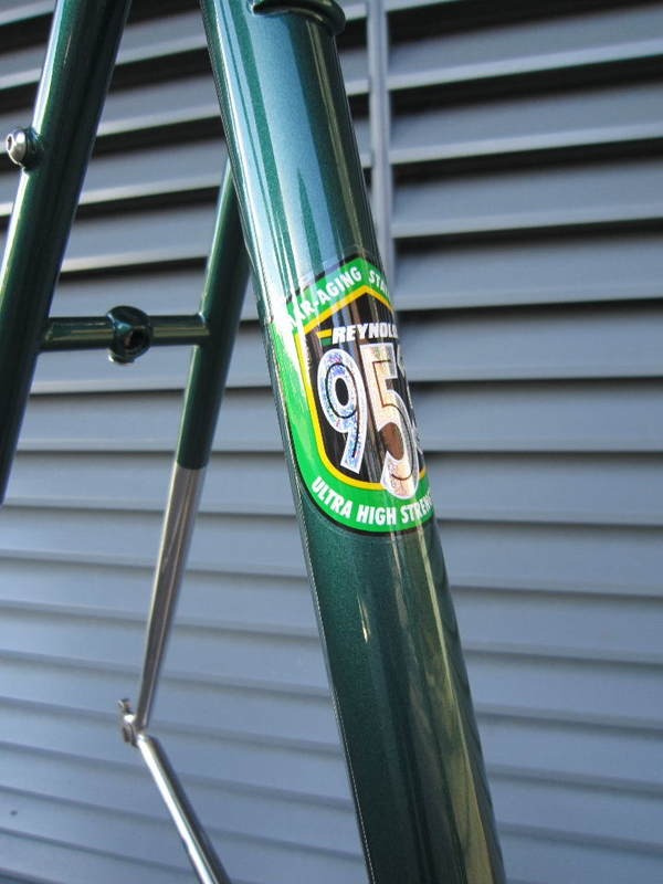 Steel, the custom cycle frame builder\'s material of choice